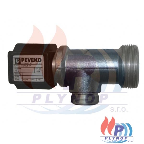 Solenoidový ventil EVF 12.11.DN 25 RA rohový plynový, DESTILA, GASEX - EVF 12.11 DN 25 RA