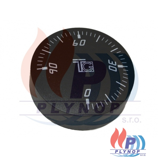 Knoflík černý 0-90 TG