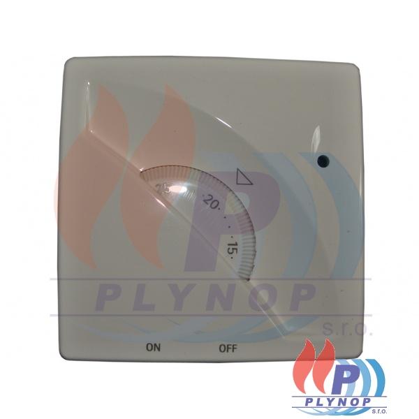 Termostat Kolibřík TP-5460L 230V s vypínačem REGULUS - 10947