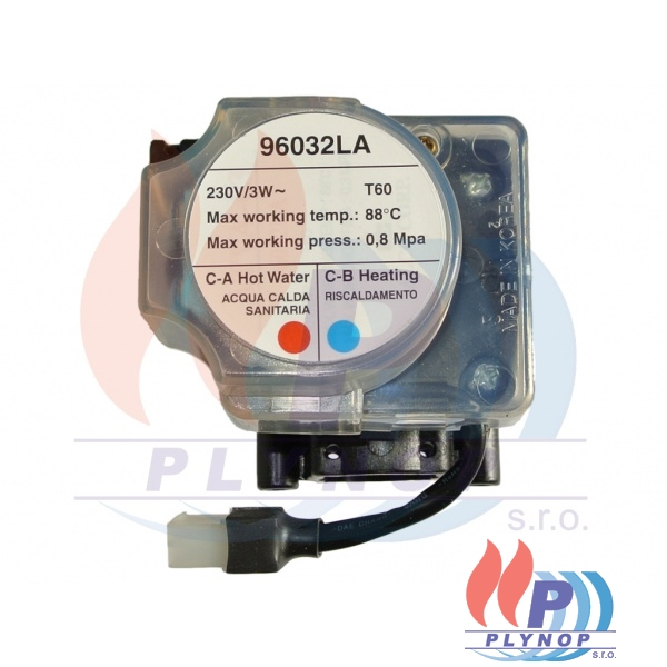 Ventil trojcestný komplet ENBRA CD - 26-00253