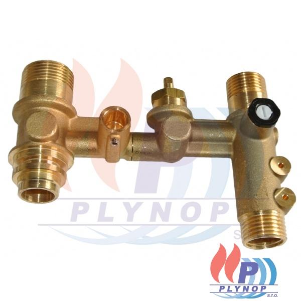 Průtokoměr hydraulické skupiny s dopouštěcím ventilem ENBRA CD - 25-00385