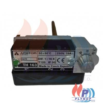 Termostat stonkový TH-163 50-90°C APATOR - TH163