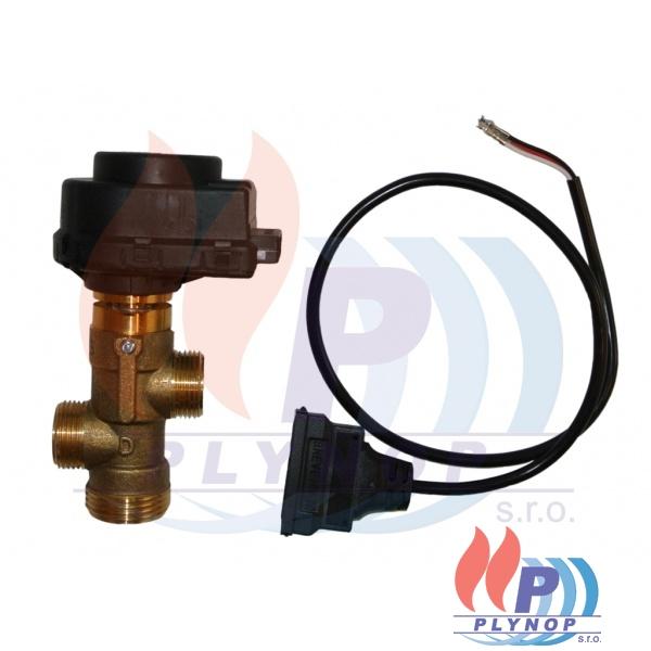 """Trojcestný ventil 3/4"""" vnější závit 230V včetně kabelu THERMONA - 21053"""