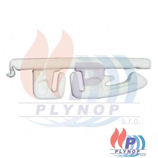 Třmen PVC na uchycení předního panelu kotle DAKON DUA PLUS - 1199 0036 / 87381019470
