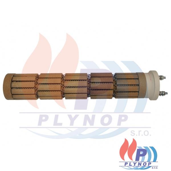 Topné těleso 2400W keramické 5 článků