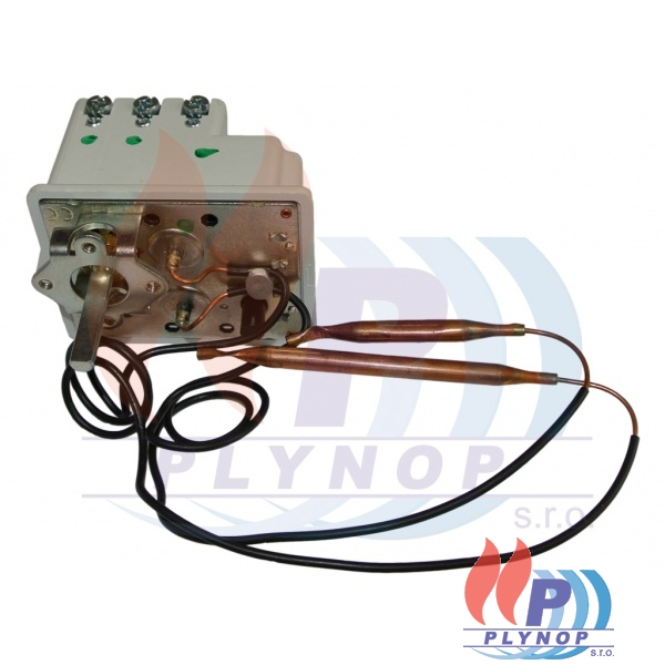 Termostat kapilárový bojler 2 kapiláry 3 faze