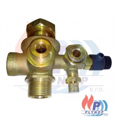 Armatura sdružená s vypouštěcím ventilem THERMONA THERM 20 TCX - 22159