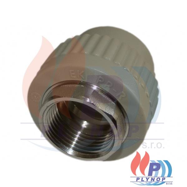 """Přechod 20x1/2"""" s vnitřním kovovým závitem WAVIN EKOPLASTIK - SZI02020XX"""