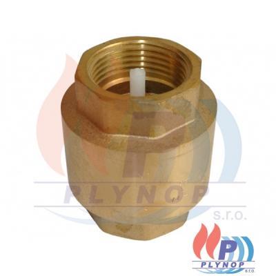 """Zpětný ventil 1"""" FF 2700 (plast)"""