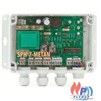 Detektor hořlavých plynů SPH-7-metan - 104.