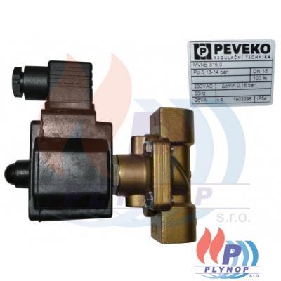 Ventil membránový vodní PEVEKO MVNE 315.0 DN15 - MVNE 315.0 DN15