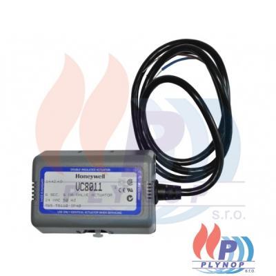 Pohon trojcestného ventilu 24V/50Hz VC8010 s kabelem HONEYWELL - VC8011ZZ00/U