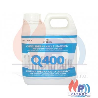 Čisticí směs Q-400 na kaly a usazeniny AV EQUEN - Q400/01