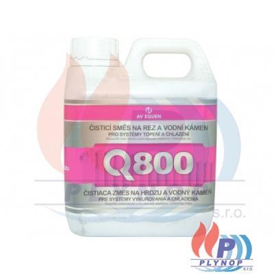 Čisticí směs Q-800 na rez, kaly a vodní kámen AV EQUEN - Q800/01