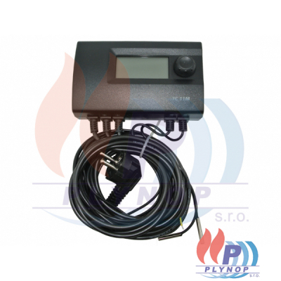 Elektronický termostat pro ovládání trojcestného ventilu a oběhoveho čerpadla SALUS / THERMO CONTROL - TC11M