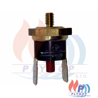 Čidlo ( havarijní termostat ) spalin 75°C BAXI LUNA - 8434830 / 612800
